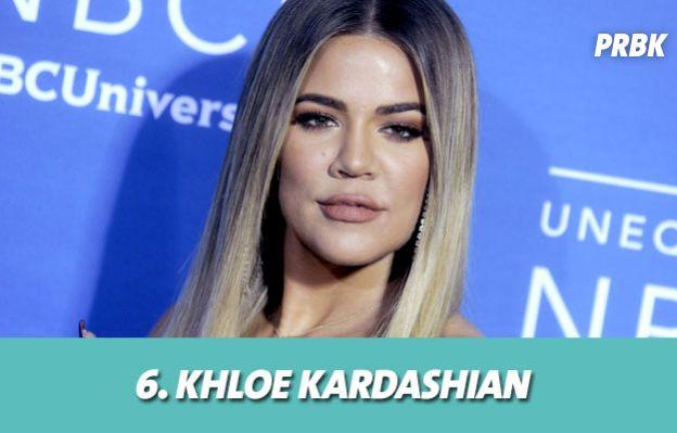 Les stars les mieux payés grâce aux posts sponsorisés : 6. Khloe Kardashian