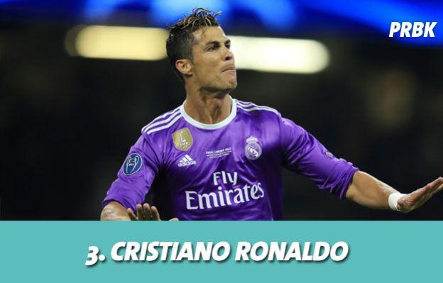Les stars les mieux payés grâce aux posts sponsorisés : 3. Cristiano Ronaldo