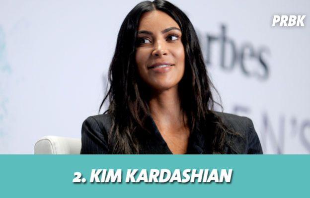 Les stars les mieux payés grâce aux posts sponsorisés : 2. Kim Kardashian