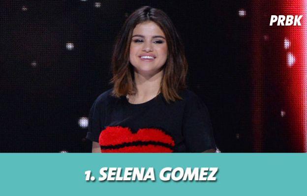 Les stars les mieux payés grâce aux posts sponsorisés : 1. Selena Gomez