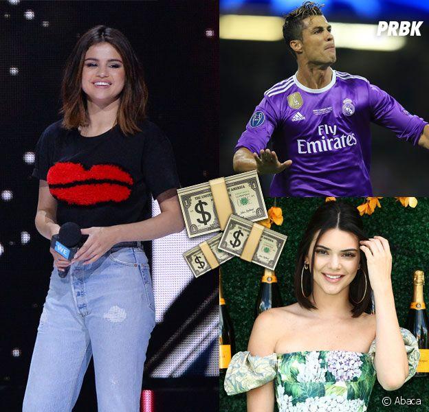 Selena Gomez, Kendall Jenner... les 10 stars les mieux payées pour leurs posts sponsos
