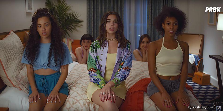 """Dua Lipa dévoile son nouveau clip """"New Rules"""""""