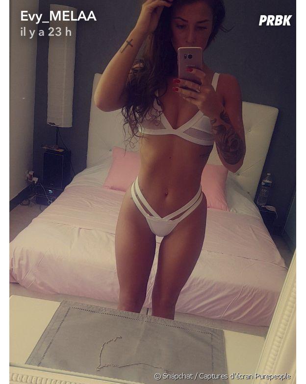 Evy (Les Anges 9) amincie sur Snapchat, elle semble avoir encore perdu du poids !