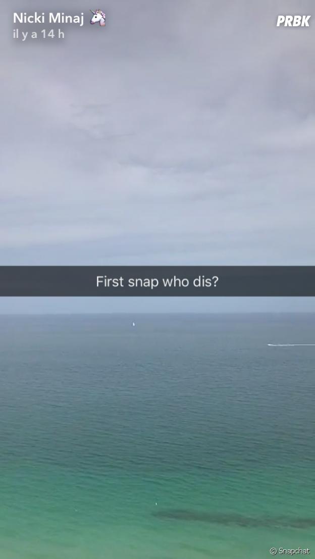 Nicki Minaj sur Snapchat : après avoir galéré sur le réseau social, la star poste ses deux premiers snaps !