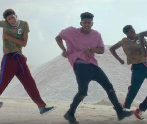 Lisandro Cuxi dans le clip de Danser, son premier single