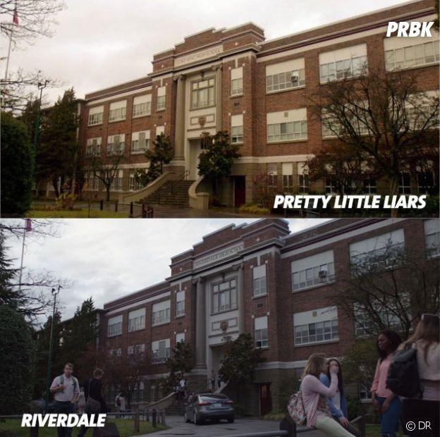 Riverdale : le lycée de la série et celui de Pretty Little Liars sont identiques