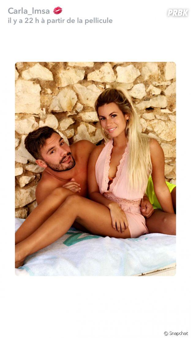 Les Marseillais VS Le reste du Monde : Carla Moreau et Kevin Guedj en couple, elle lui fait une belle déclaration !