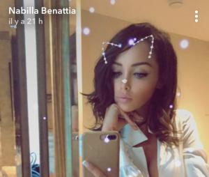 Nabilla Benattia dévoile sa nouvelle coupe de cheveux sur Snapchat