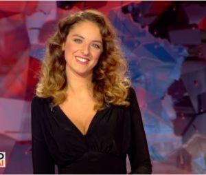 Camille Lavabre, la Miss météo de L'info du vrai plantée par le prompteur le mercredi 6 septembre 2017 sur Canal +