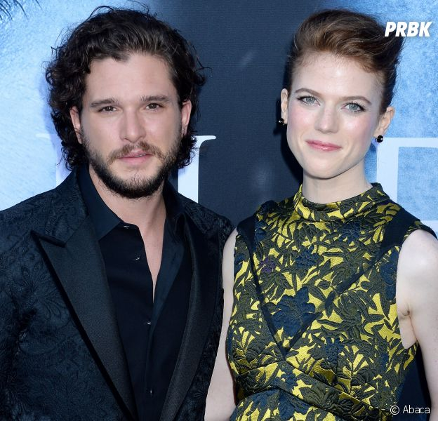 Kit Harington et Rose Leslie sont fiancés — Game of Thrones