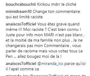 Anais Camizuli accusée de racisme, elle pousse un coup de gueule