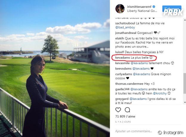 Kev Adams prouve-t-il son amour pour Iris Mittenaere avec ce commentaire ?