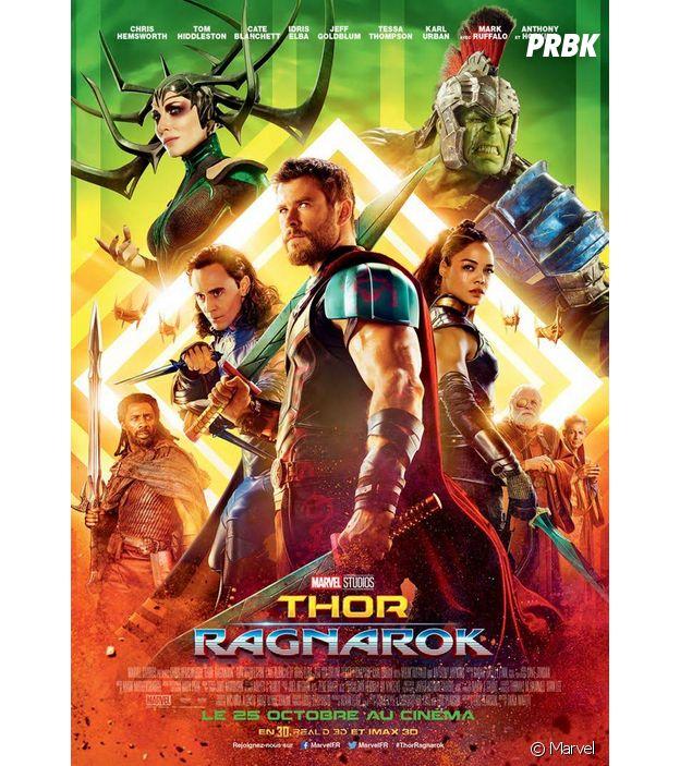 L'affiche de Thor Ragnarok.