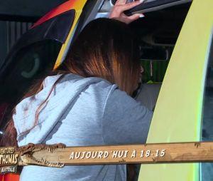 Les incroyables aventures de Nabilla et Thomas en Australie : Nabilla Benattia à bout, elle pense à quitter l'émission !