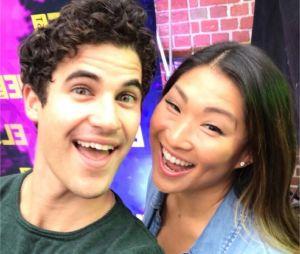 Glee : Darren Criss et Jenna Ushkowitz se retrouvent au Festival Elsie