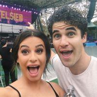 Lea Michele : retrouvailles avec des acteurs de Glee deux ans après la fin de la série