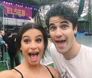 Lea Michele retrouve Darren Criss au Elsie Festival