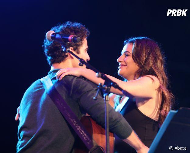 Lea Michele et Darren Criss sur scène au Elsie Festival