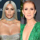 """Kim Kardashian ultra fan de Céline Dion : """"Je l'adore"""""""