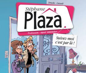 Stéphane Plaza : la couverture de sa bande dessinnée