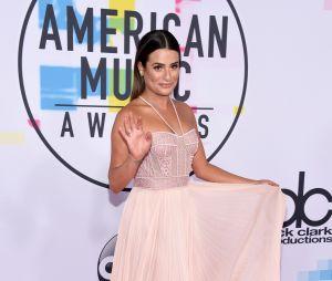 Lea Michele aux American Music Awards 2017 le 19 novembre à Los Angeles