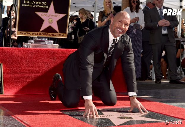 Dwayne Johnson a son étoile sur le Hollywood Boulevard