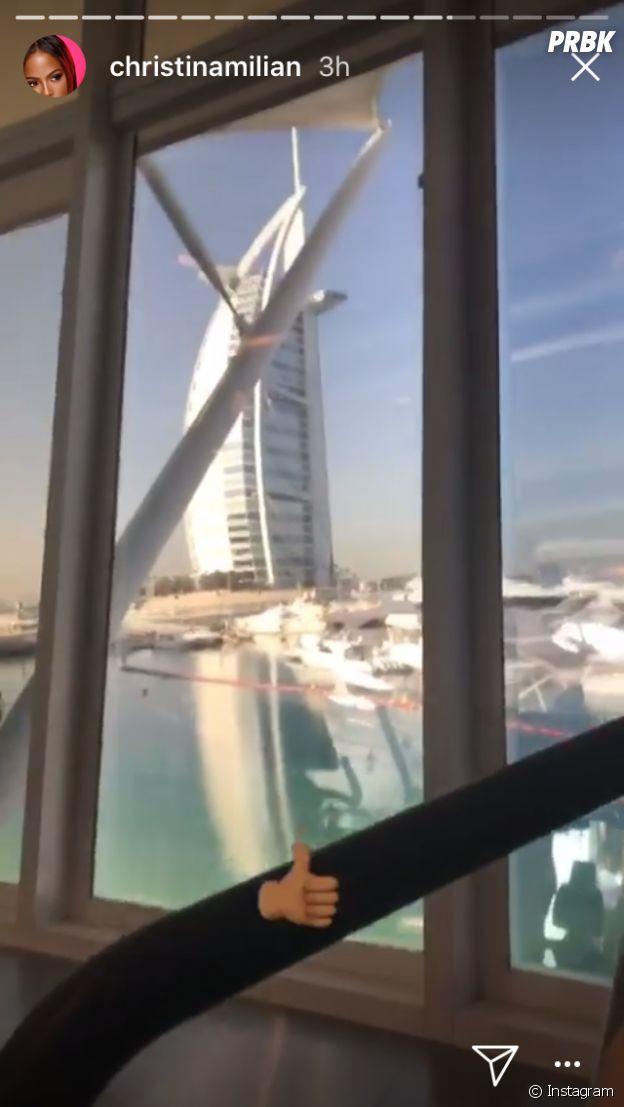 M. Pokora et Christina Milian in love à Dubaï : leurs vacances en photos !