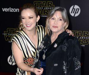 Billie Lourd : son hommage touchant pour les 1 an de la mort de sa mère Carrie Fisher