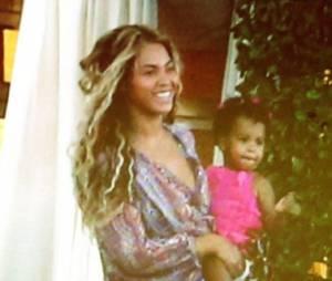 Beyoncé : moments complices avec Blue Ivy