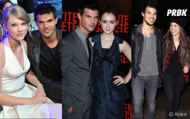 Taylor Lautner a été en couple avec Taylor Swift, Lily Collins et Marie Avgeropoulo
