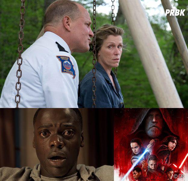 Oscars 2018 nominations : 3 Billboards, Get Out, Star Wars 8... tous les nommés