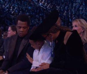 Grammy Awards 2018 : Quand Blue Ivy rappelle à l'ordre ses parents Beyonce et Jay Z...
