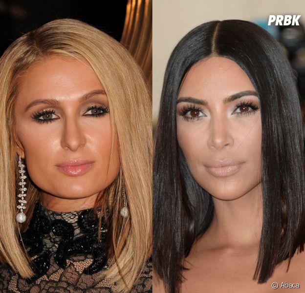 Paris Hilton : sosie de Kim Kardashian pour Yeezy season 6 !