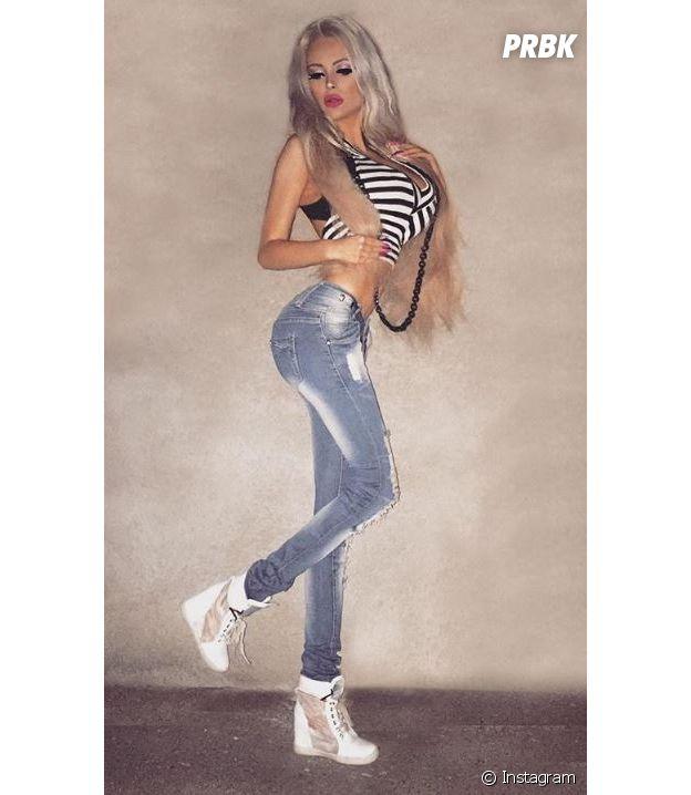 A 18 ans, Gabriella Jirackova dépense 1.000 euros par mois pour ressembler à Barbie !