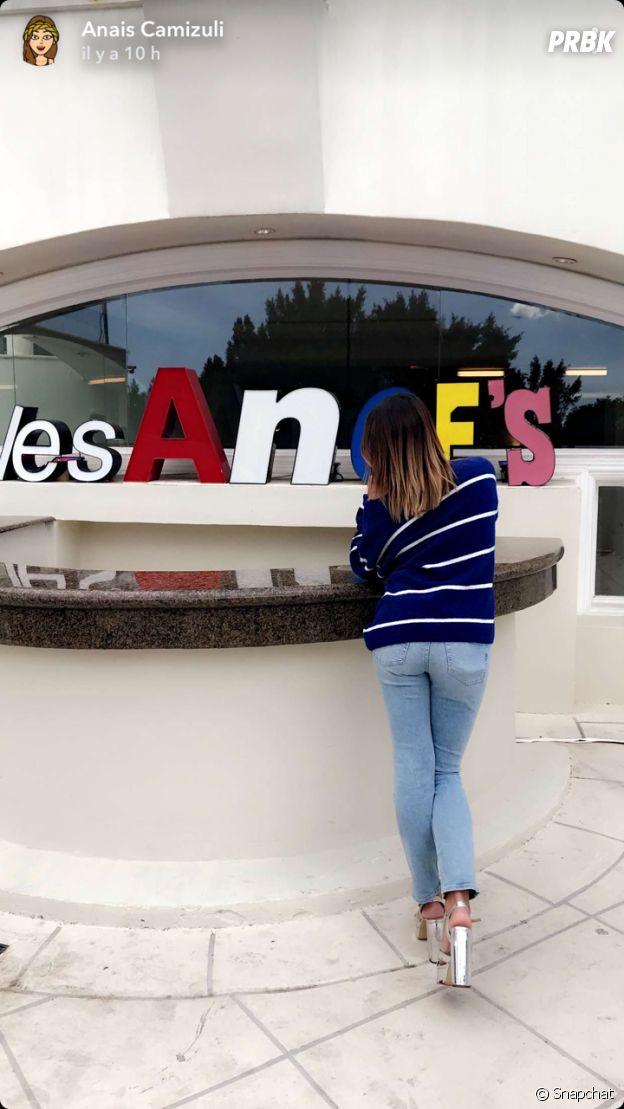Les Anges 10 : Anaïs Camizuli dans la villa à Los Angeles