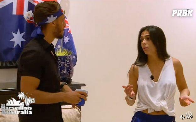 Les Marseillais Australia : Julia aurait un copain à l'extérieur, Cloé balance tout et les candidats ne sont pas contents !