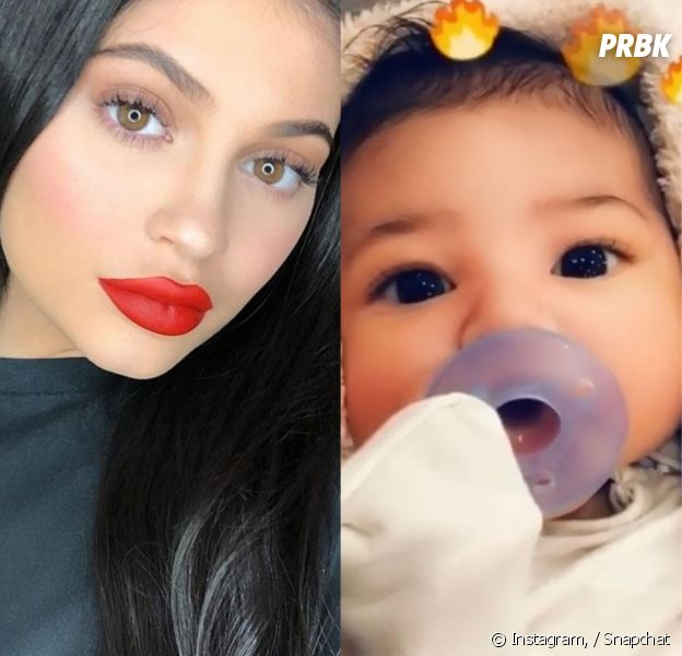 Kylie Jenner dévoile le visage de sa fille Stormi en vidéo !