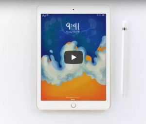 iPad 9,7 pouces et son Apple Pencil