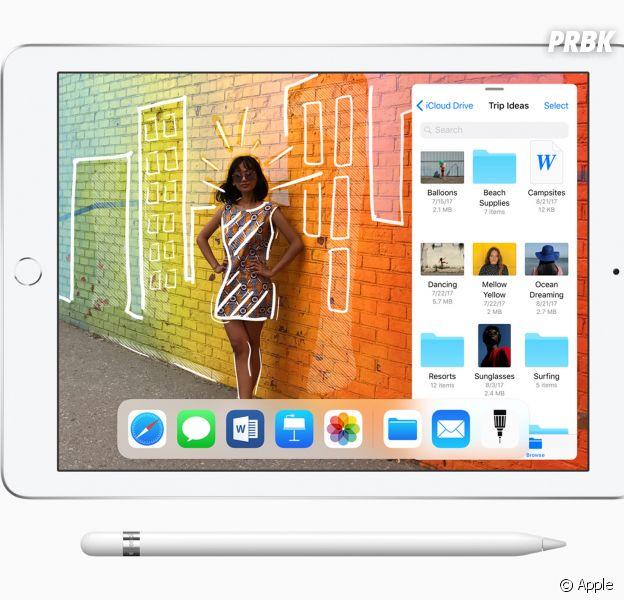 iPad 9,7 pouces compatible avec Apple Pencil