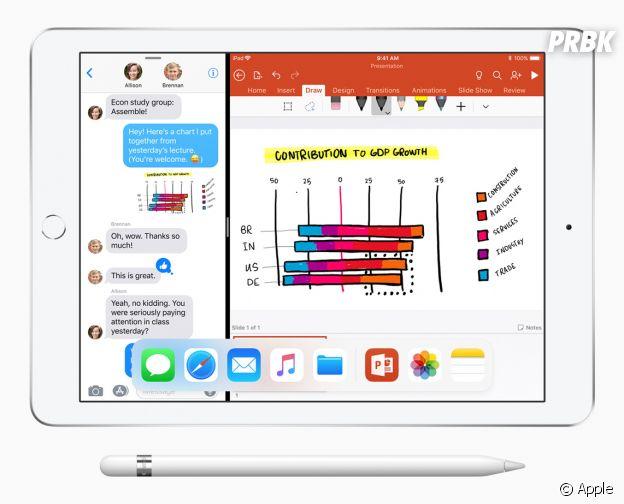 iPad 9,7 pouces avec Apple Pencil