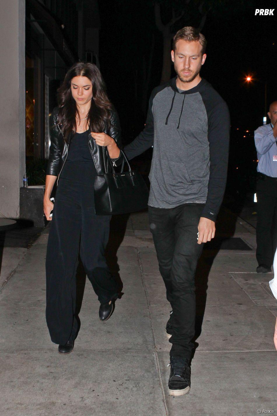 Calvin Harris et son ex Aarika Wolf réunis