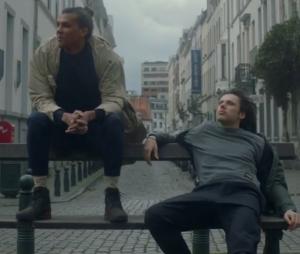 """Clip """"La Pluie"""" : le titre d'Orelsan en feat. avec Stromae débarque en vidéo."""