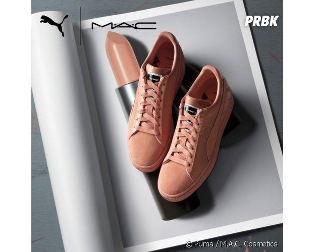 Puma x MAC ou comment matcher ses sneakers avec son rouge à lèvres avec style !