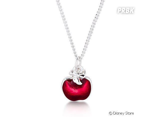 Le collier pomme empoisonnée de Blanche-Neige du Disney Store