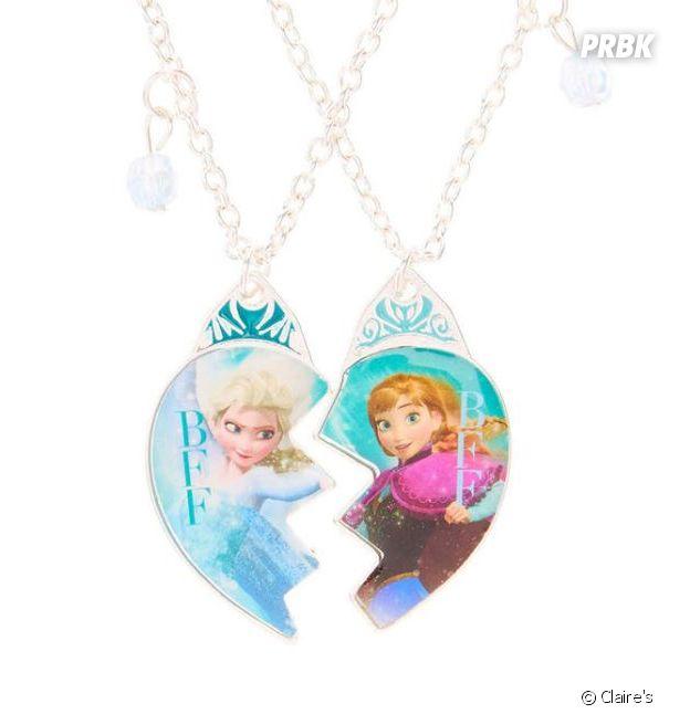 Les colliers La Reine des Neiges de Claire's
