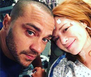 Grey's Anatomy saison 14 : le beau message de Sarah Drew à Jesse Williams