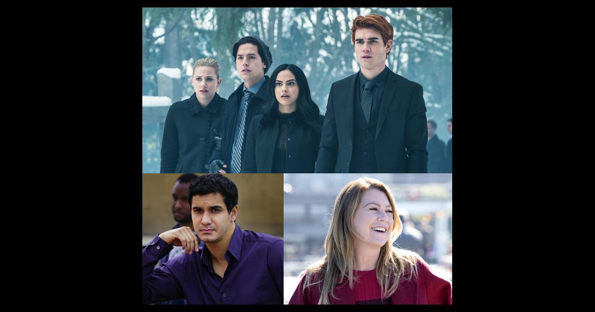 Riverdale, Lucifer, Scorpion, Grey's Anatomy... les séries ...