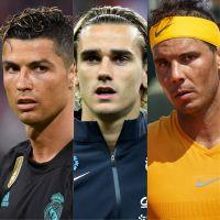 Cristiano Ronaldo, Rafael Nadal, Antoine Griezmann... Le top 100 sportifs des plus connus du monde