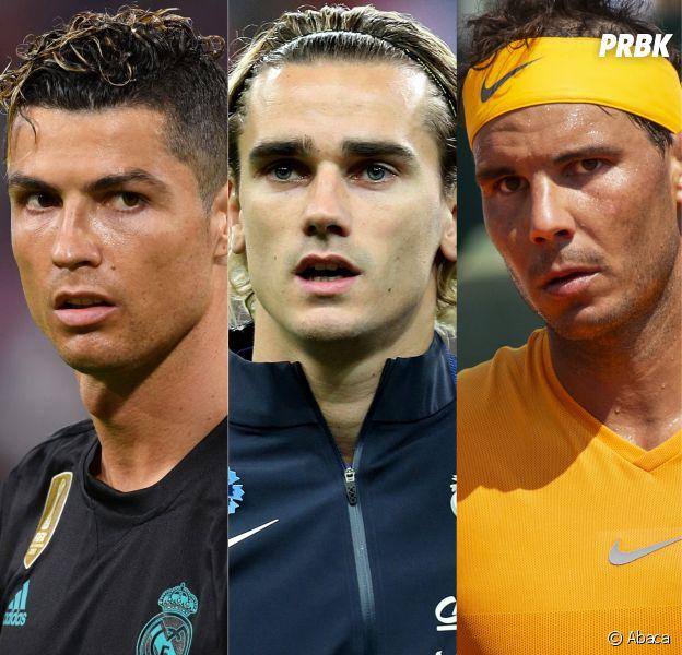 Cristiano Ronaldo, Rafael Nadal, Antoine Griezmann... Les 100 sportifs les plus connus au monde !