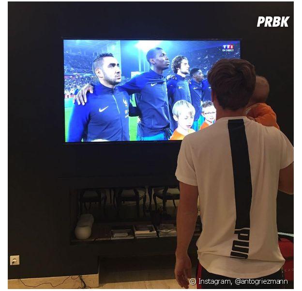 Antoine Griezmann : sa fille Mia, supportrice la plus chou du Mondial 2018